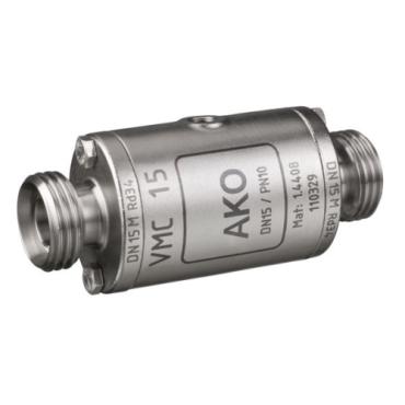 Slangafsluiter pneumatisch bediend - buitendraad DIN 11851