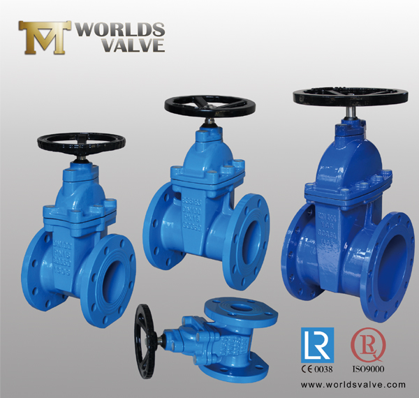 DIN Rubber Gate Valve